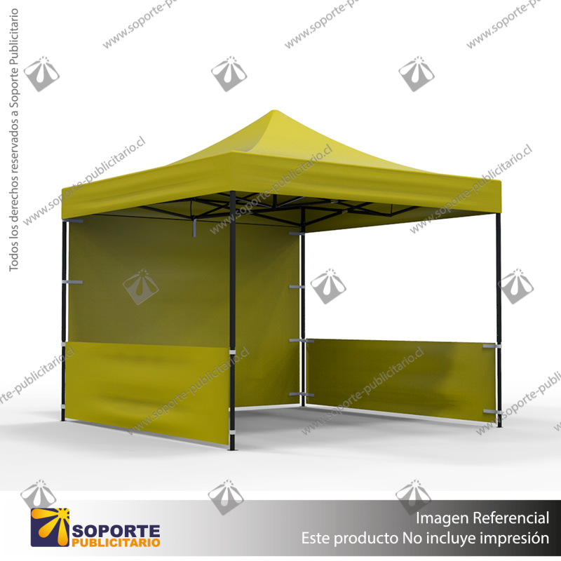 TOLDO PUBLICITARIO 3*3 MTS COLOR AMARILLO