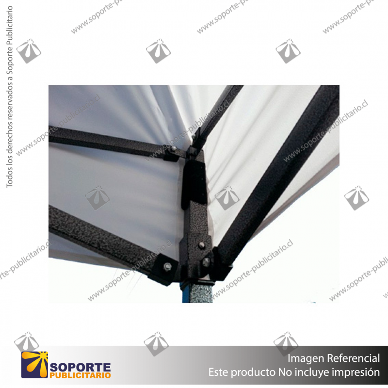 TOLDO PUBLICITARIO 3*3 MTS COLOR BLANCO