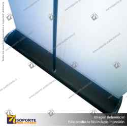 PORTA PENDON ROLLER PRO BASE COLOR NEGRO 80*200 CMS (C4)